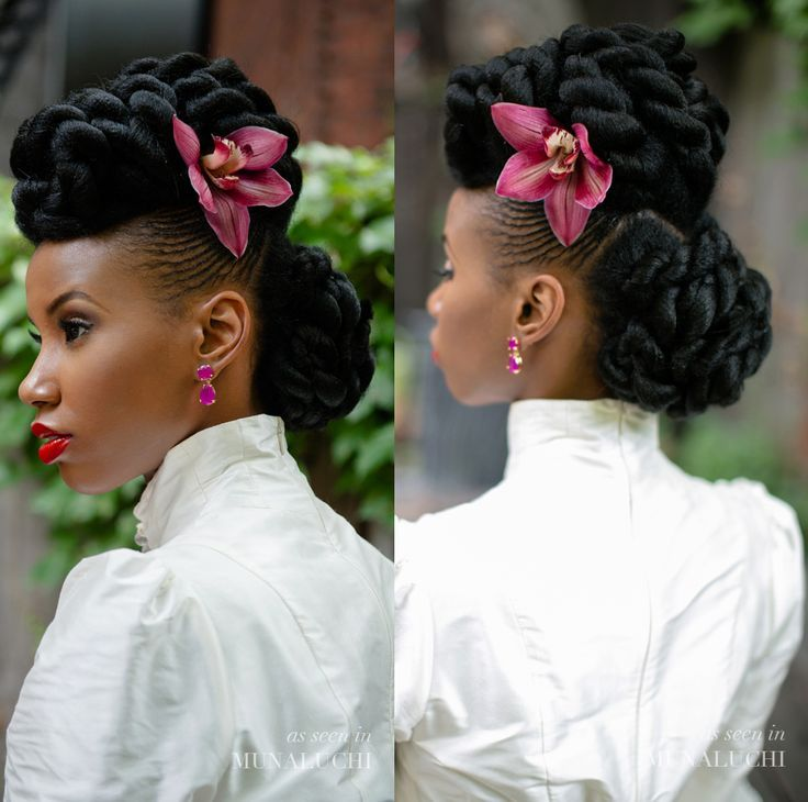 Wedding In Kenya With Twist Hair Style: 381 Best Images About African American Wedding Hair On