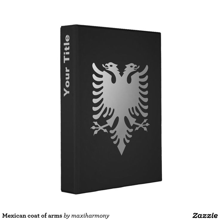 Mexican coat of arms mini binder