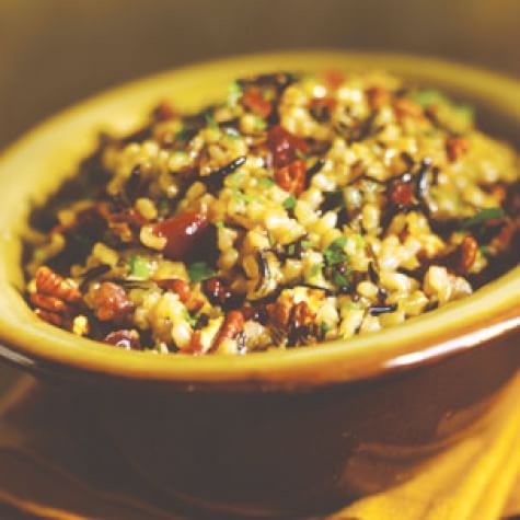 Wild Rice Pilaf with Dried Cranberries and Pecans | Williams Sonoma