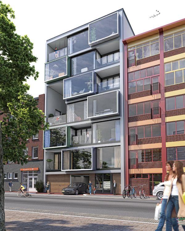 Oosterkade Groningen, by Van Ringen Architecten
