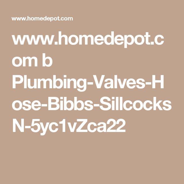www.homedepot.com b Plumbing-Valves-Hose-Bibbs-Sillcocks N-5yc1vZca22
