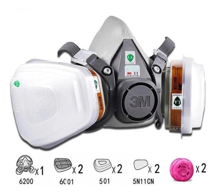 gvs spr457 elipse p100 dust half mask respirator filters