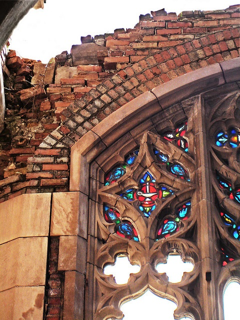 Stained Glass, City Methodist Church,  Gary, IN by Equinox27, via Flickr