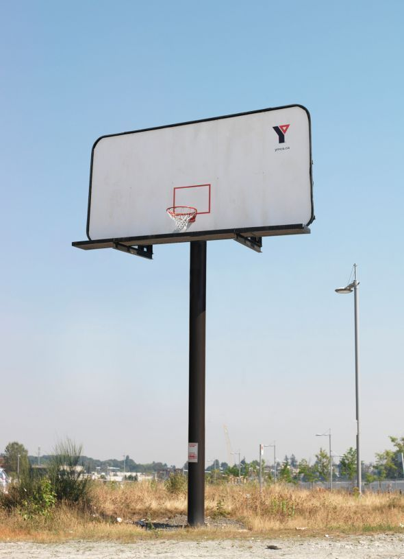 YMCA: Basketball billboard. #advertising #billboard