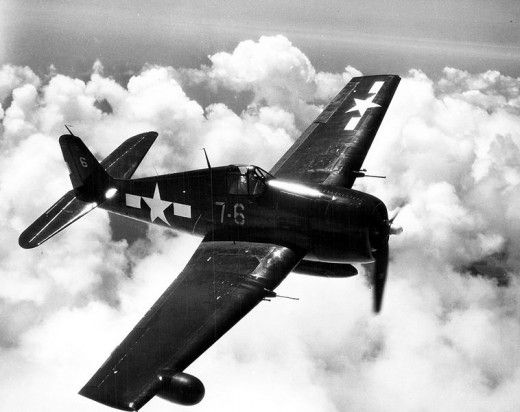 The Hellcat, or Grumman F6F, a fighter aircraft in World War II.