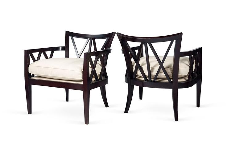 One Kings Lane - Melanie Turner Interiors - Barbara Barry X Chairs, Pair