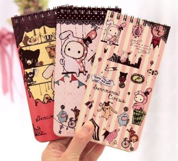 Libreta: Sentimental Circus Buy here: www.lacasadepapel.com