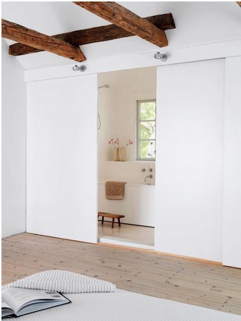 bedrooms-light-wood-doors-ensuite-bathrooms-exposed-beams-wall-lights-wood-floors