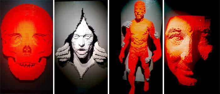 Review | Art of the Brick | Likewater