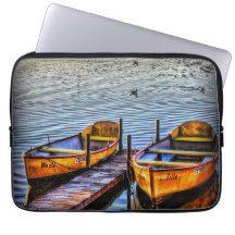 "Twin Boats 13"" Laptop Sleeve $27.95"