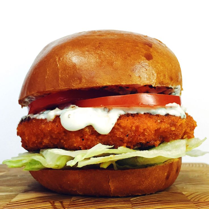 For those Buffalo chicken addicts out there (acceptance is the first step), this burger might be a serious roadblock on your way to recovery.  Click here for the recipe.   - Delish.com
