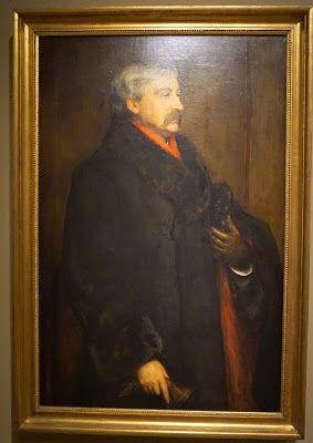 Washington, D.C., Smithsonian American Art Museum and National Portrait Gallery: Bret Harte, by John Pettie, 1884