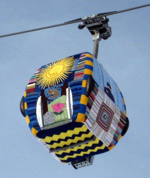 Graffiti Knitting Epidemic : Images about knit crochet urban art on pinterest