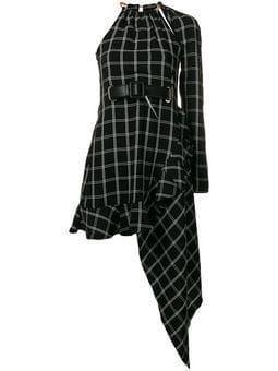 asymmetrical plaid dress #asymmetrical #dress #plaid #asymmetrical #dress