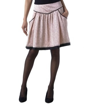 Promod dotted skirt