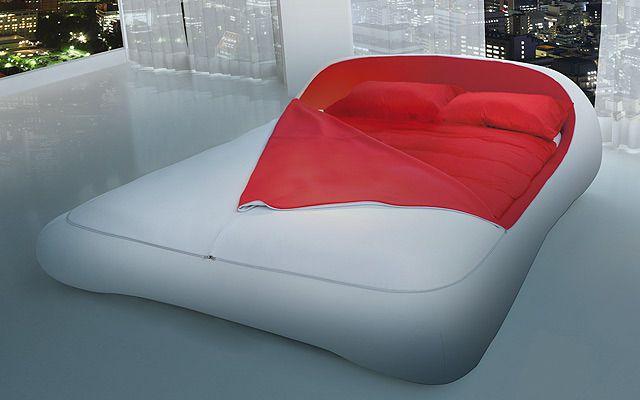 designer bett bilder | design-bett-Zip-Bed-cool-innovativ-mit-reißverschluss-verschließbar