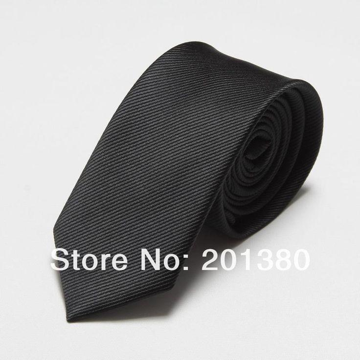 Fashion Narrow Tie Men Wedding gravata slim 6cm width 19 colors