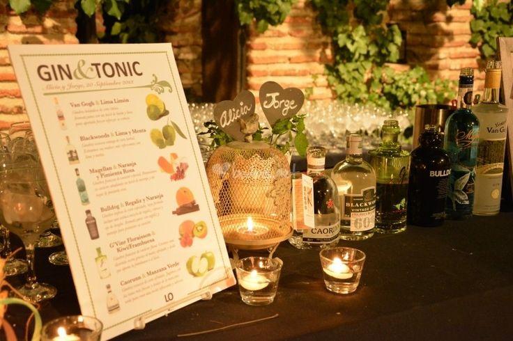Barra Gin-Tonic en bodas - http://www.bodas.net/animacion/locatamos-barra-de-cocteles-mojitos-y-gintonics--e30525/fotos/0