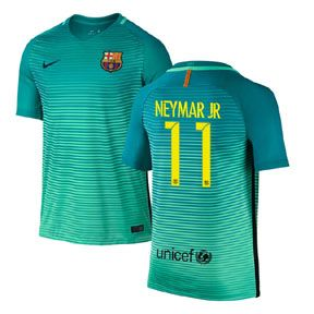 Nike Youth Barcelona Neymar #11 Soccer Jersey (Alternate 16/17): http://www.soccerevolution.com/store/products/NIK_41054_A.php