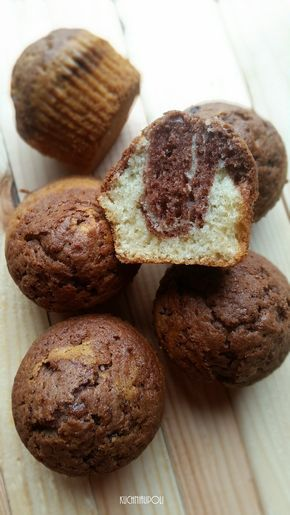 Muffiny Marmurkowe Delikatne I Puszyste Muffiny Marmurkowe