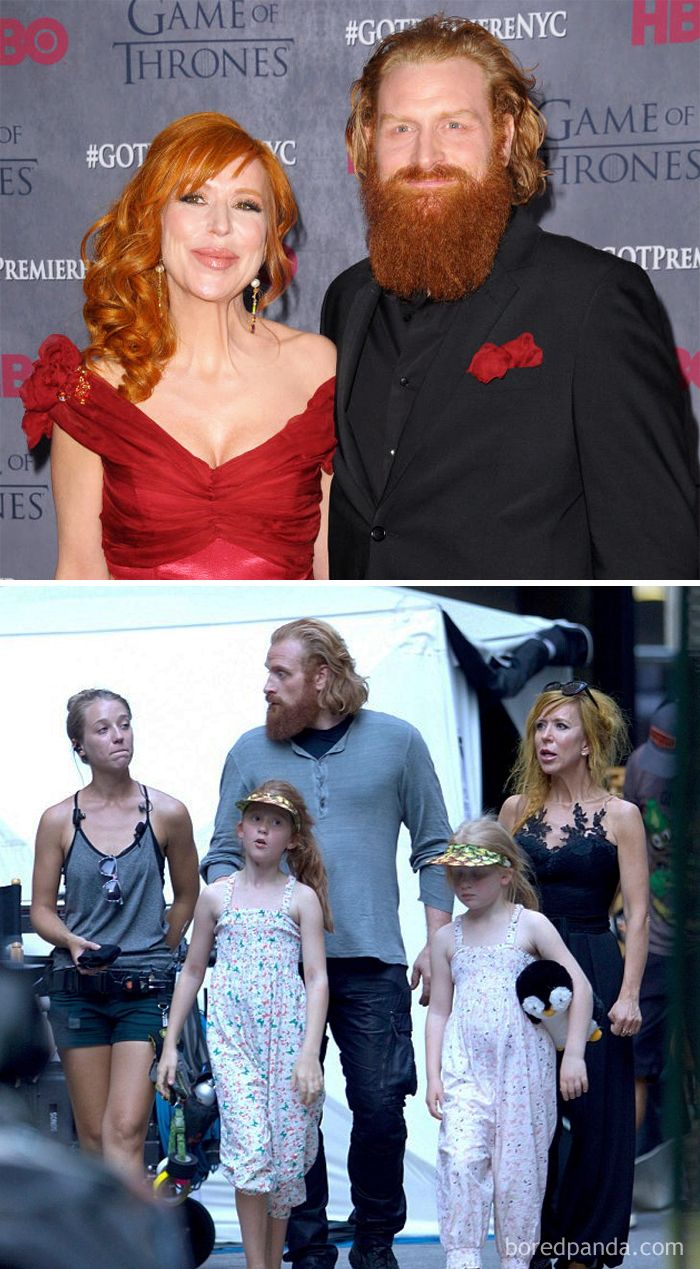 Kristofer Hivju (Tormund Giantsbane) And His Wife Journalist Gry Molvær Hivju