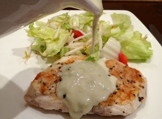 Make and share this Blue Cheese Sauce for Steaks, Burgers, and Chicken recipe from Genius Kitchen.