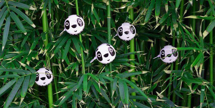 Beep Bicycle Bells Pandas!!!