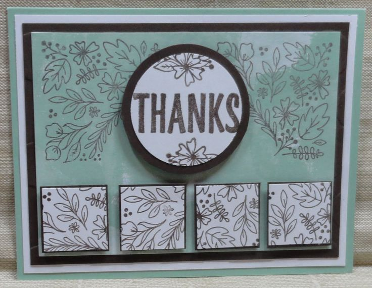 Made by Sandy (August 2016 Paper Pumpkin): Added Early Espresso & White…