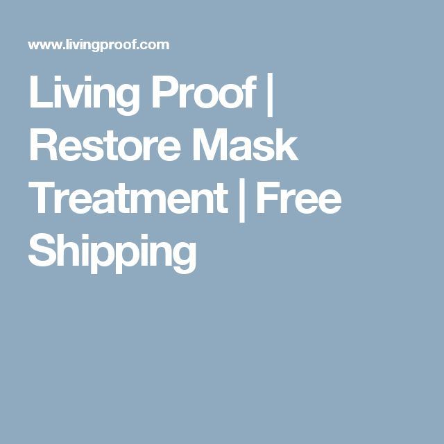 Living Proof | Restore Mask Treatment | Free Shipping