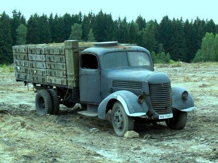 Praga A150' RN' RND | Staré náklaďáky
