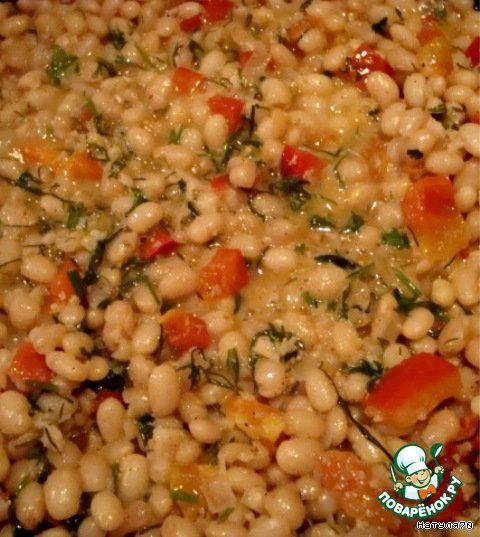 Фасоль в чесночном соусе ингредиенты