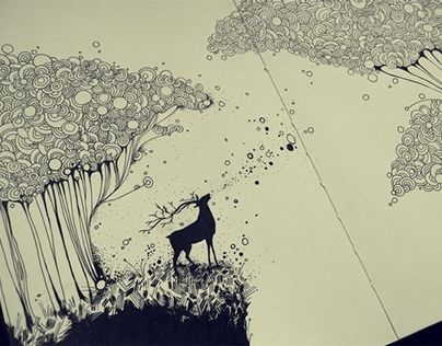 """Check out new work on my @Behance portfolio: """"echo"""" http://on.be.net/1I0VKmT"""