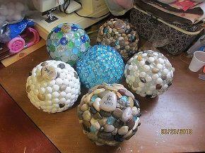 garden globes, crafts, mason jars, Fast forward six different globes