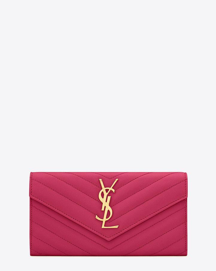 laurent bags - classic medium monogram saint laurent satchel in dove white grain ...