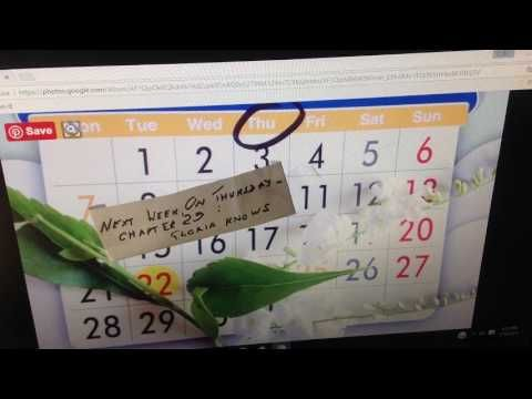 Next Week,  On Thursday:  Chapter 29 -  Gloria Knows - YouTube