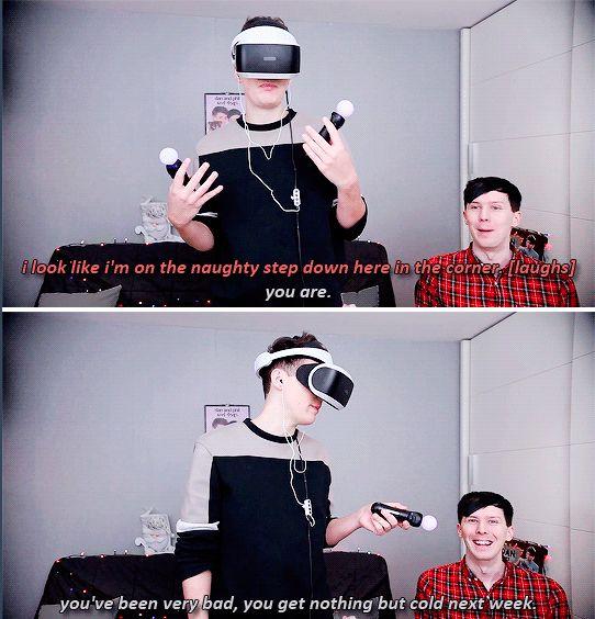 GIF SET: Dan and Phil GET REAL JOBS - Job Simulator VR!