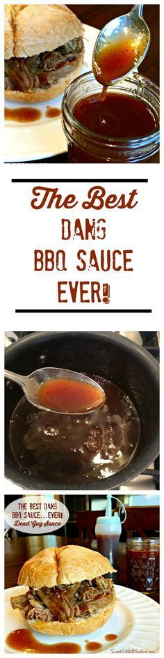 BEST DANG BBQ SAUCE...EVER!! This awesome sauce is tangy, not too sweet, loaded with layers of flavor. It's not thick like many bbq sauces and is great for basting.
