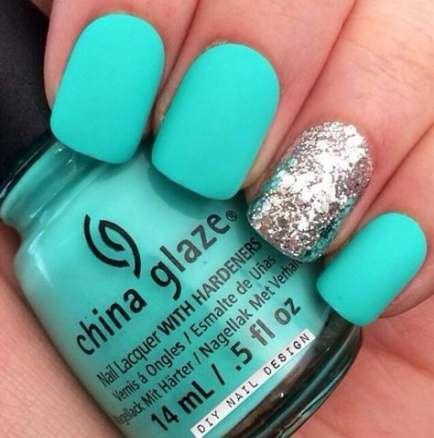 41+ Trendy nagels Mat Turquoise China Glaze