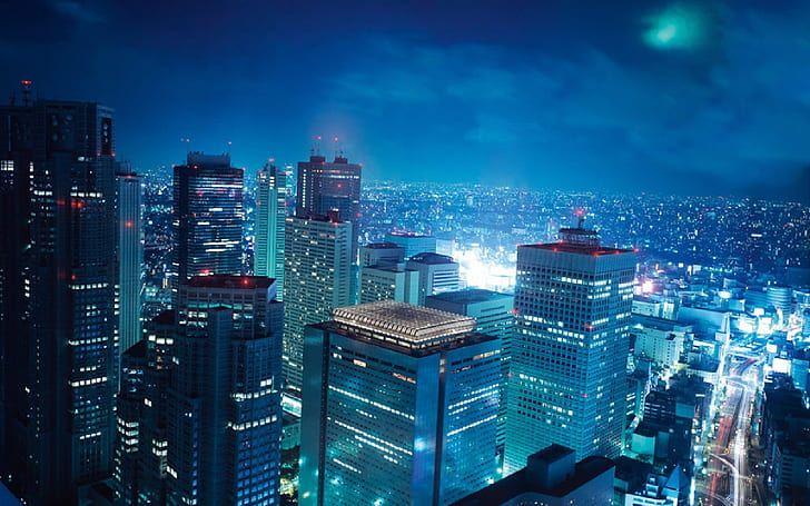 16 High Quality Anime City Wallpaper Baka Wallpaper In 2020 Japan Anime City Anime City Tokyo Ghoul Wallpapers