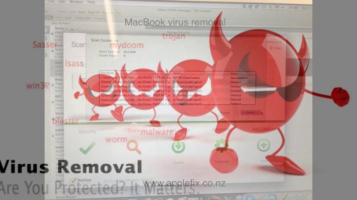 laptop computer virus removal service hamilton