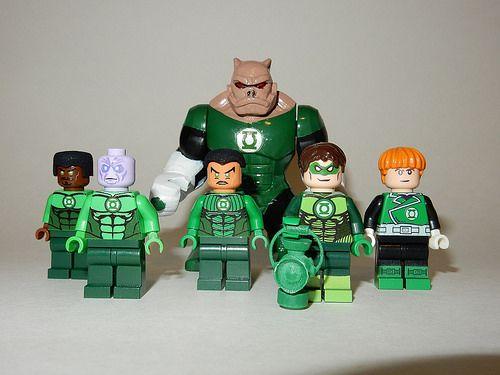 Custom Lego Green Lanterns