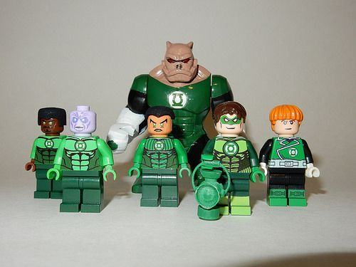 Custom Lego Green Lanterns                                                                                                                                                     More
