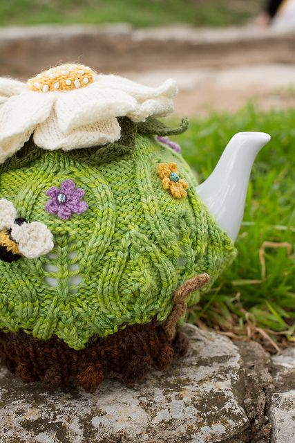 Ravelry: Fairy Queen Tea Cozy pattern by Cassandra Deavers and Alex Aulisi