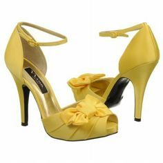 gray & canary yellow wedding high heels - Szukaj w Google