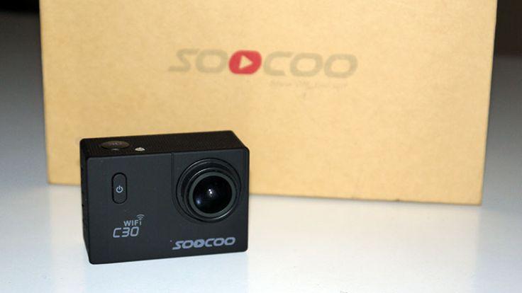 TEST SOOCOO C30: Camera Sportive 4K WiFi avec Stabilisateur pas Cher
