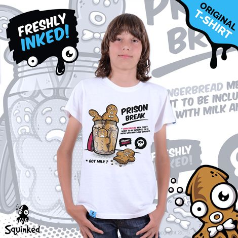 *Squinked T-shirt for boys! *Tricou Squinked pentru baieti!