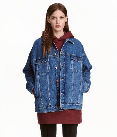 Die 25 besten ideen zu jeansjacke oversize auf pinterest levis jeansjacke jeansvesten - Jeansjacke damen oversize ...