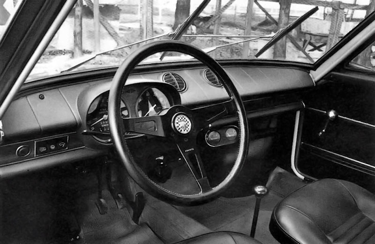 Fiat Abarth OT 1300 interior