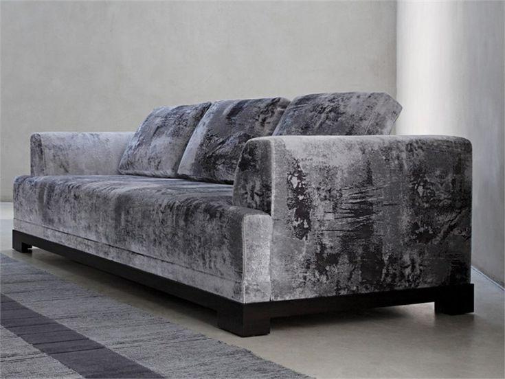 3 Seater Upholstered Sofa California Collection By Nobilis | Design Coralie  Feildel Halard