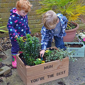 Personalised Large Mother's Day Crate